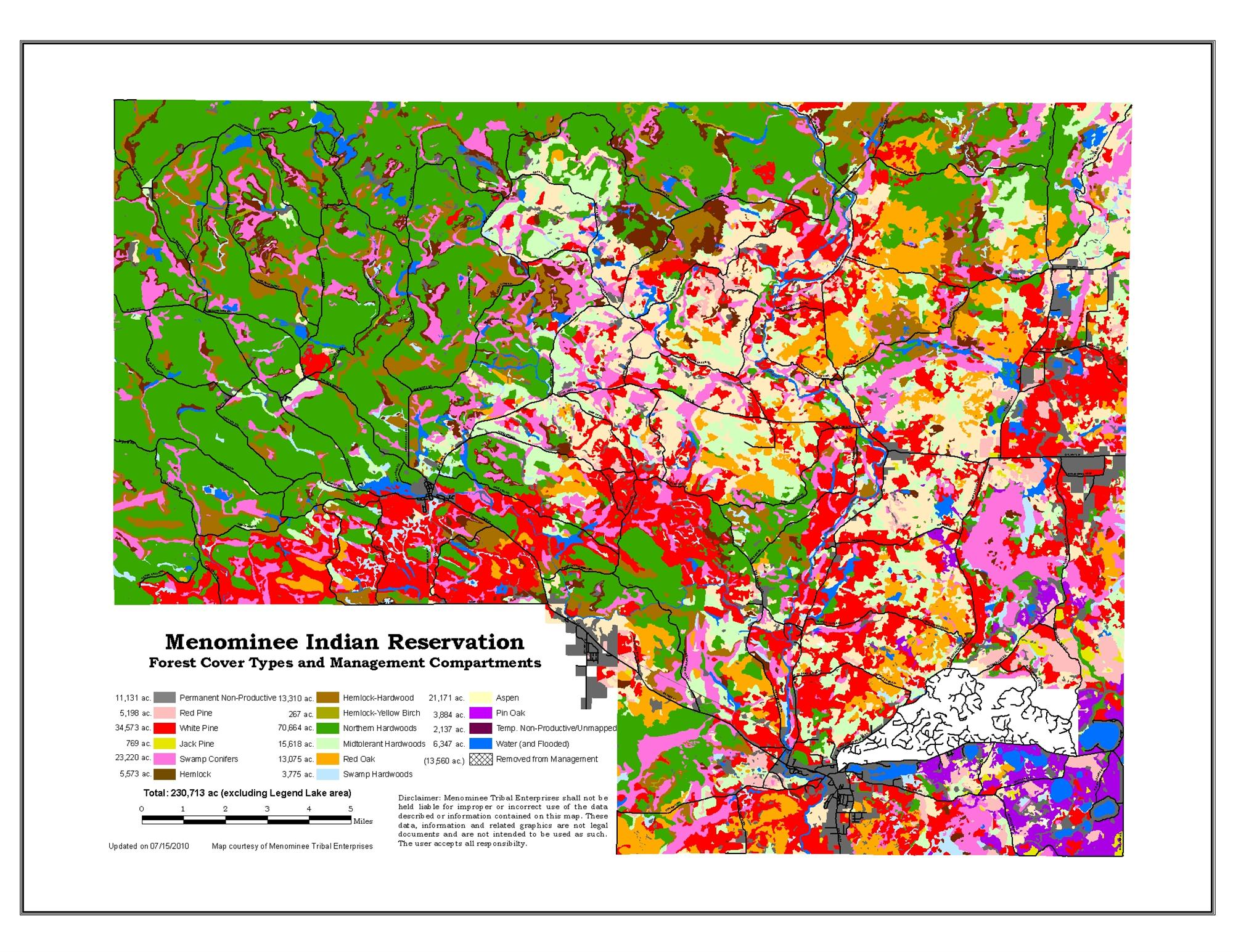 The Native Trees Of Colorado Region  Forest Grassland Health - Us map of forest types
