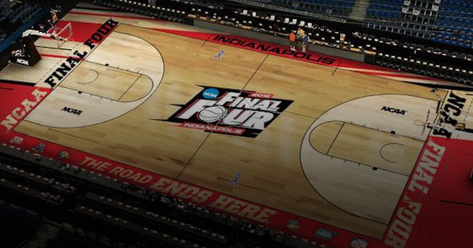 NCAA Final Four Basketball Court Flooring